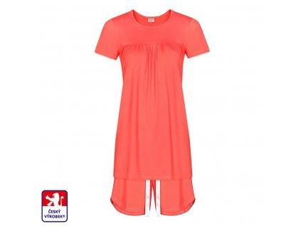 Pyjamo set short coral O3
