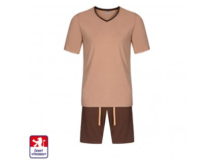 Pyjamo set short body brown O3