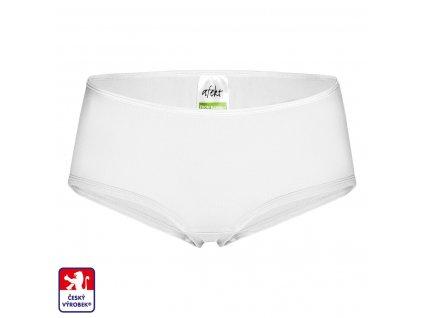 Girl panties white front O3
