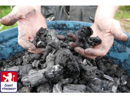 PRAuhel Alfa hruba frakce biouhel drevene uhli O3