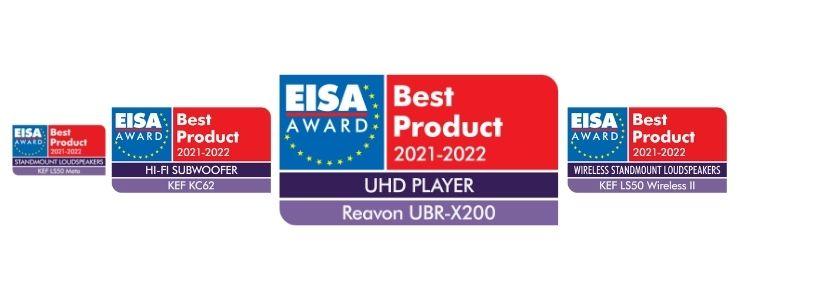 Ceny EISA 2021-2022
