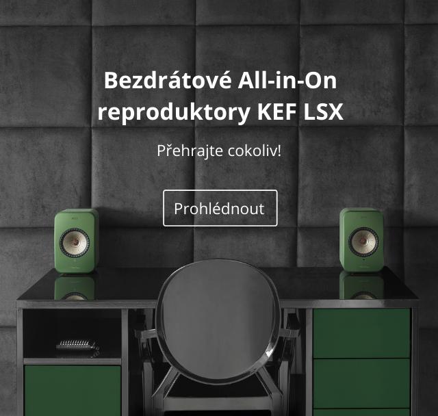 KEF LSX banner