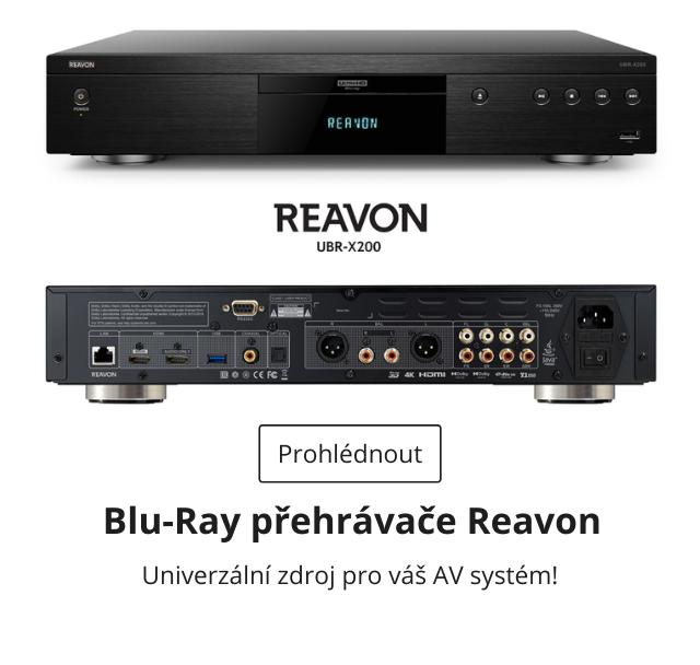 Reavon Blu-Ray přehrávače