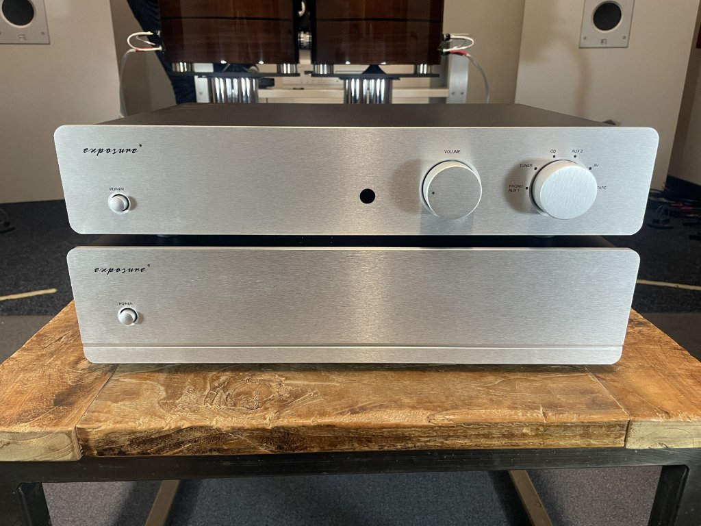 Exposure 3010S2D Pre Amplifier + Stereo Power Amp