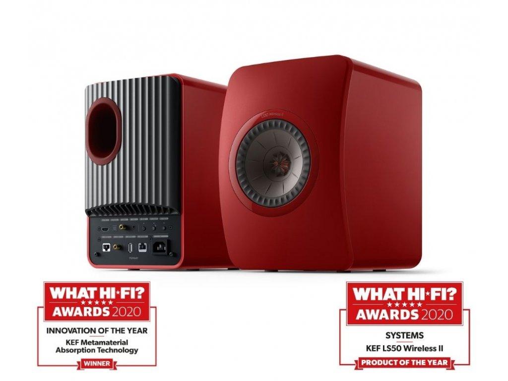 KEF LS50 wireless II oceneni