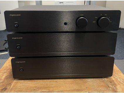 Exposure 5010 Pre-amp + Mono Power Amp (pár)