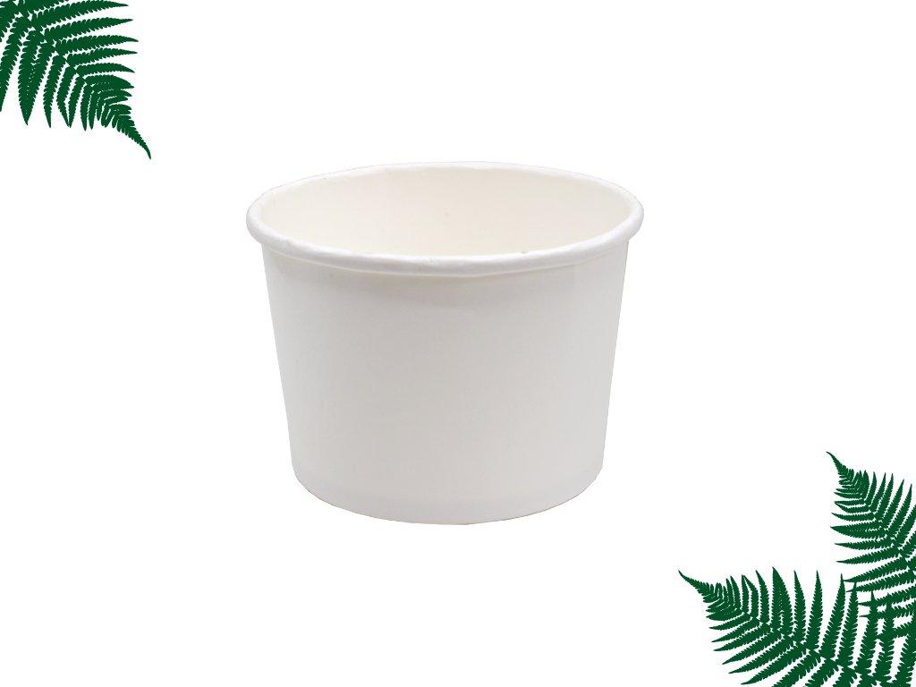 Kelímek na polévku bílý 500ml