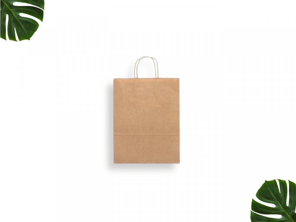 Papírová taška s krouceným uchem 240 x 100 x 320 main