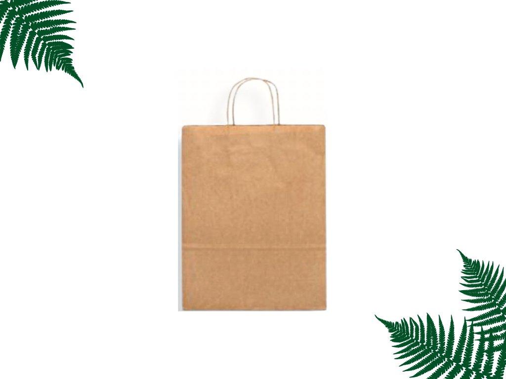 Papírová taška s krouceným uchem 305 x 170 x 340 main