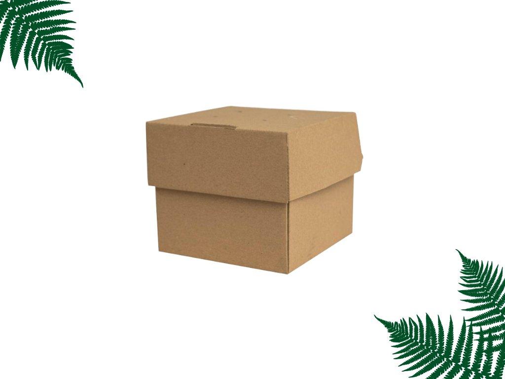 Burger box rozkládací 120 x 118 x 104