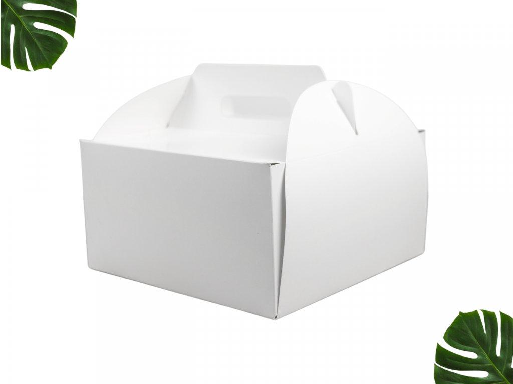 Dortová krabice s uchem 260 260 110