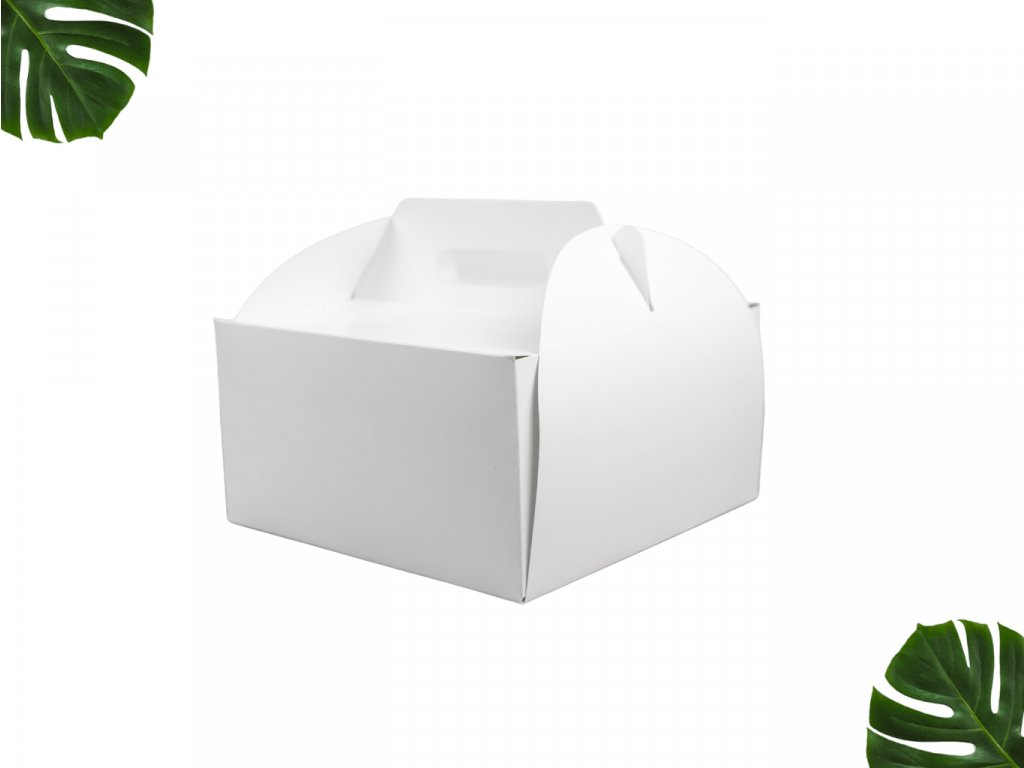 Dortová krabice s uchem 220 220 120