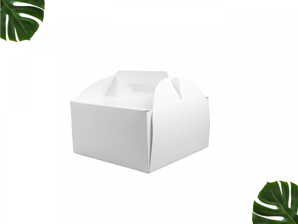 Dortová krabice s uchem 180 180 100