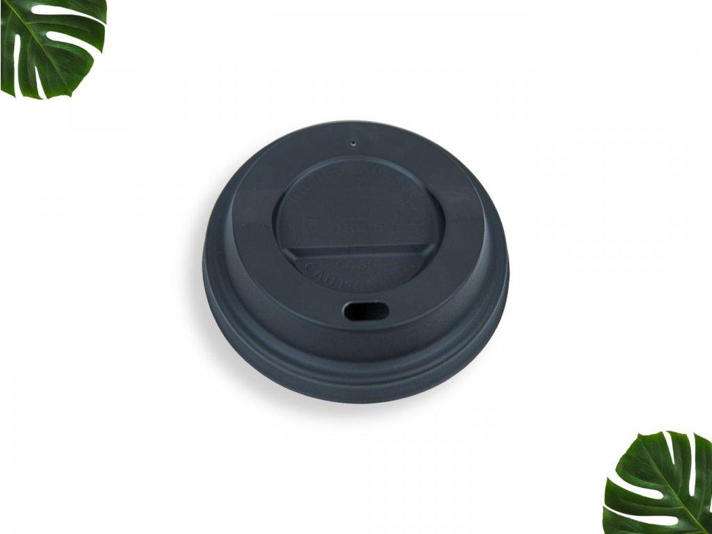 PLA Víčko na kelímek 80mm černé main