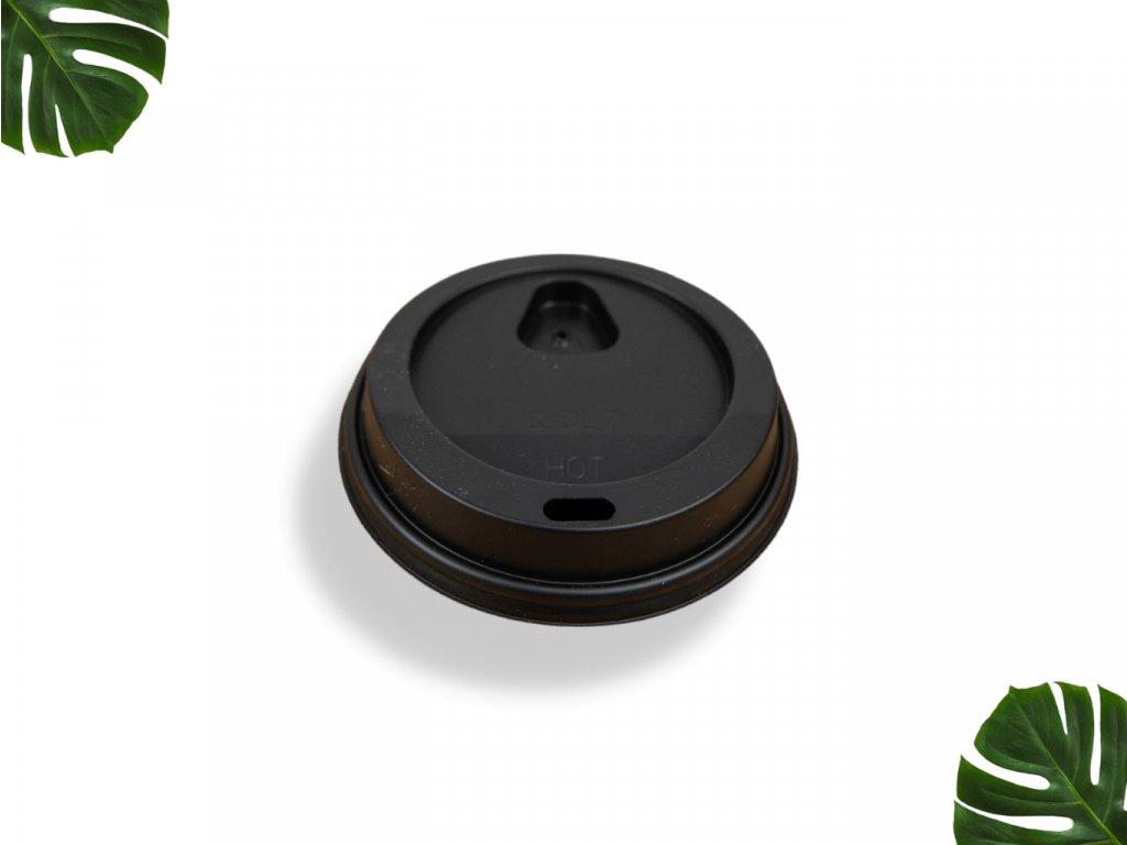 Víčko na kelímek 72mm černé main