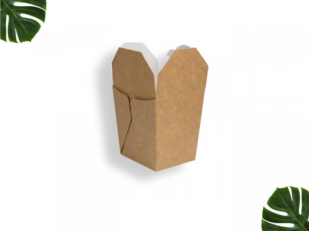 Papírová krabička na jídlo 700 ml main