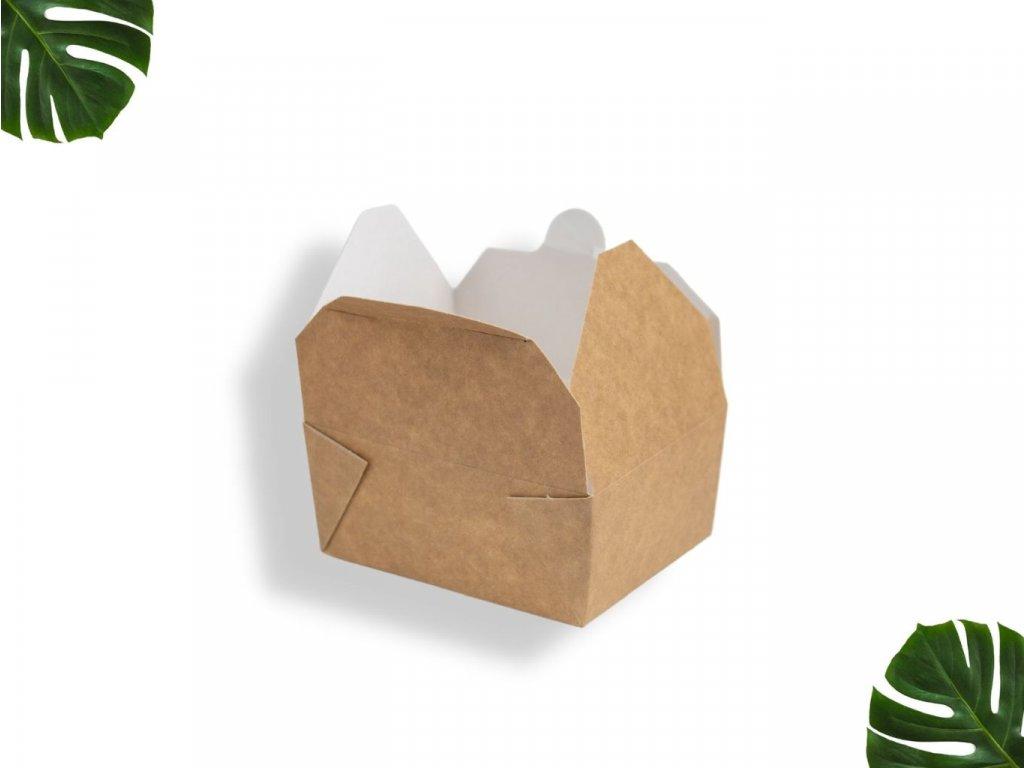 Papírová krabička na jídlo 500ml main