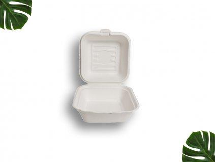 Krabička na burger z cukrové třtiny main