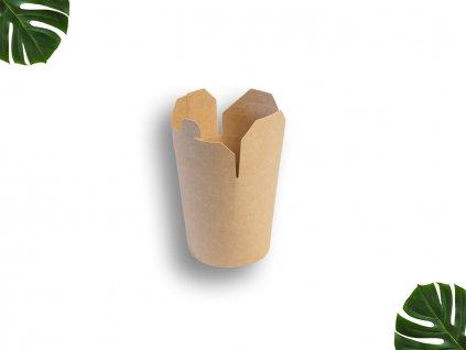 Papírový box na nudle 450ml main