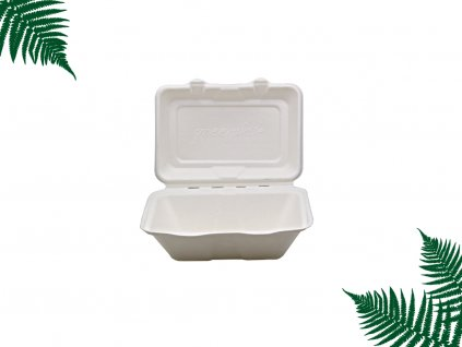 Menubox z cukrové třtiny obdelníkový main