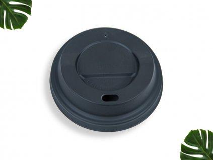 PLA Víčko na kelímek 90mm černé main