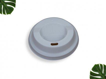PLA Víčko na kelímek 80mm bílé main