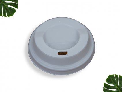 PLA Víčko na kelímek 90mm bílé main