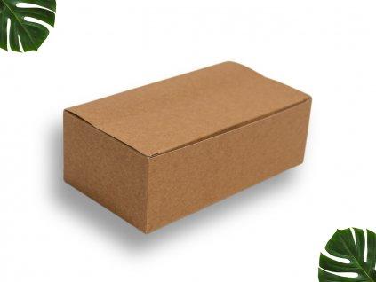 Papírový menubox velký