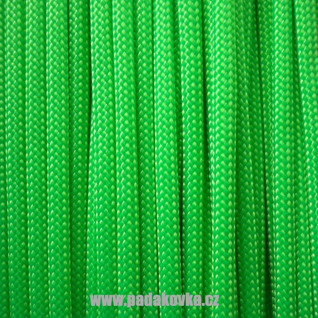 neon zelena w