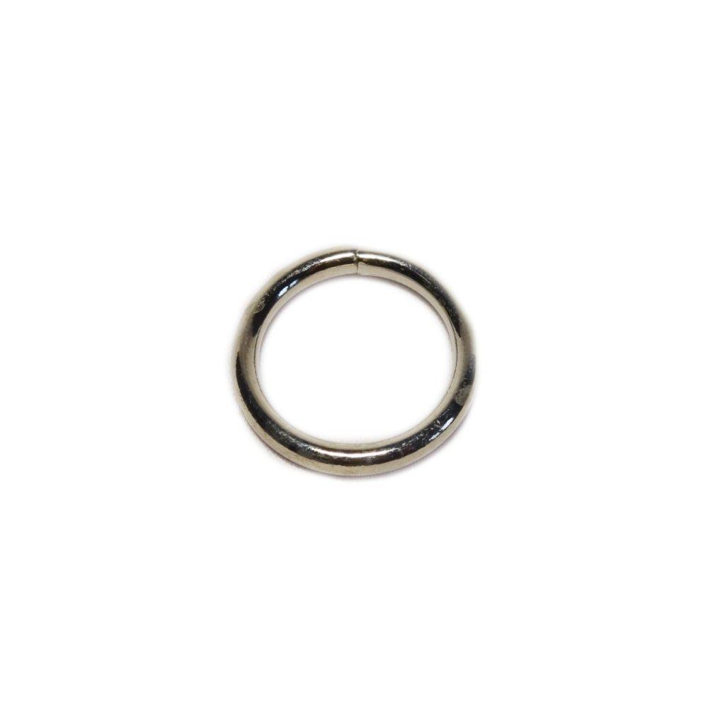 Kroužek kovový 25mm