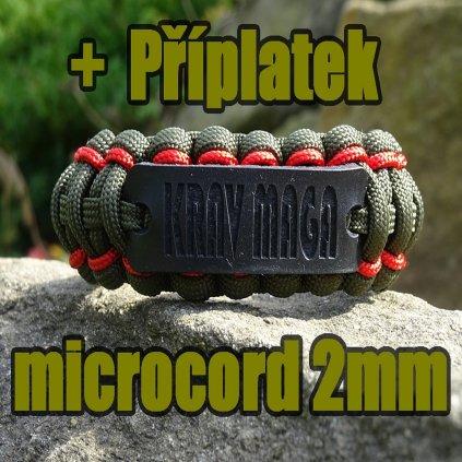 příplatek za Microcord 2mm