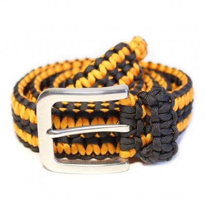 Opasek černo oranžový pánský