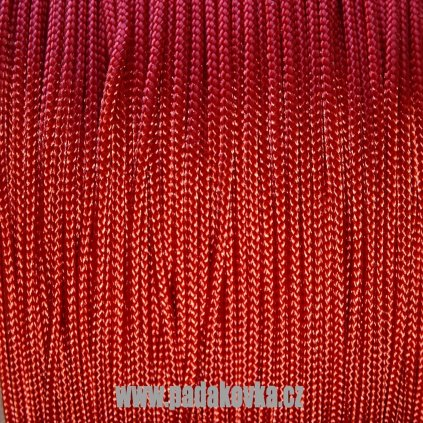 Microcord 100 metráž - Červená