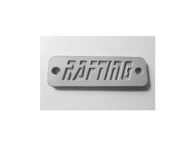ID gumový štítek RAFTING