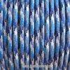 Paracord metráž - modrá oceán
