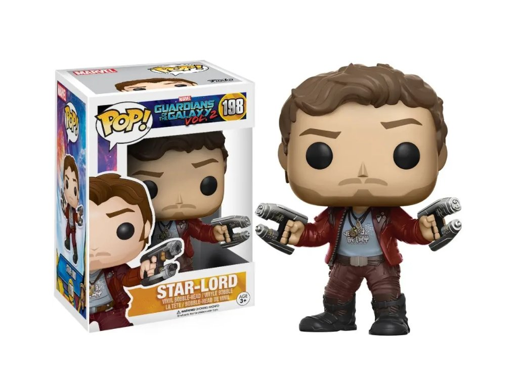 Funko POP! Star Lord 9 cm Strážci galaxie