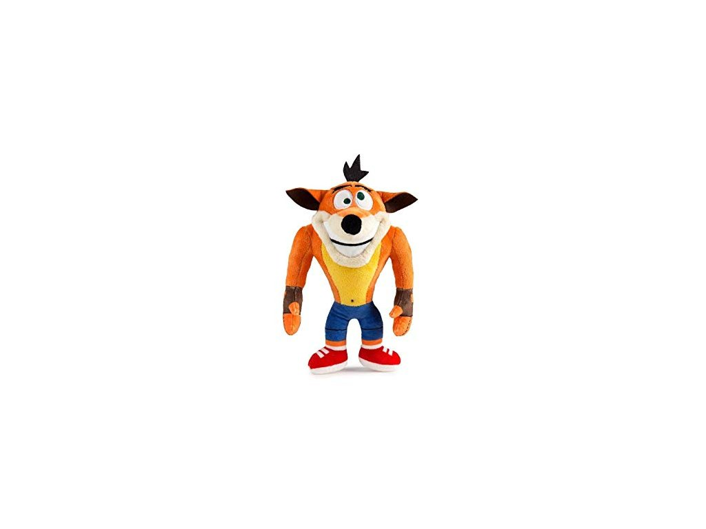 Plyšák Crash Crazy Eyes 20 cm Crash Bandicoot