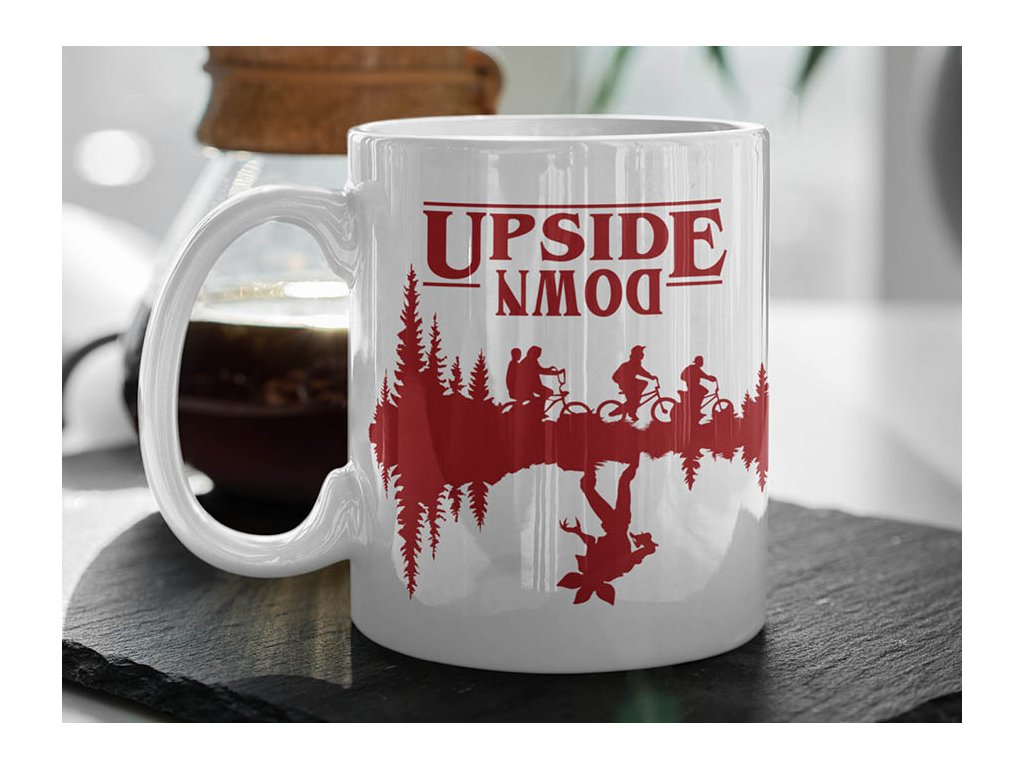 Hrnek Stranger Things Upside down