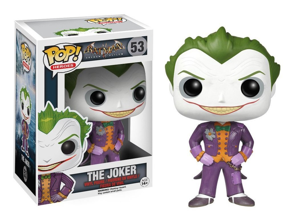 Funko POP! Joker 10 cm Batman: Arkham Asylum