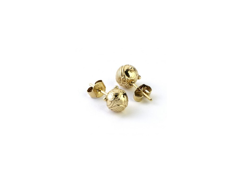 hp gold snitch studs
