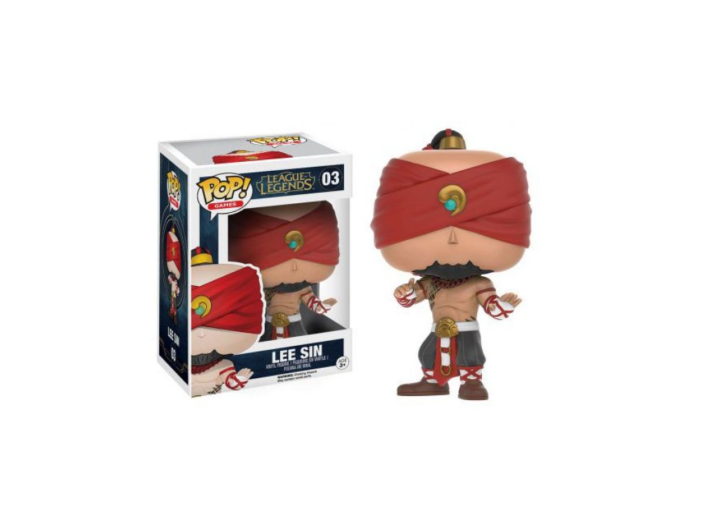 Funko POP! Lee Sin 9 cm League of Legends