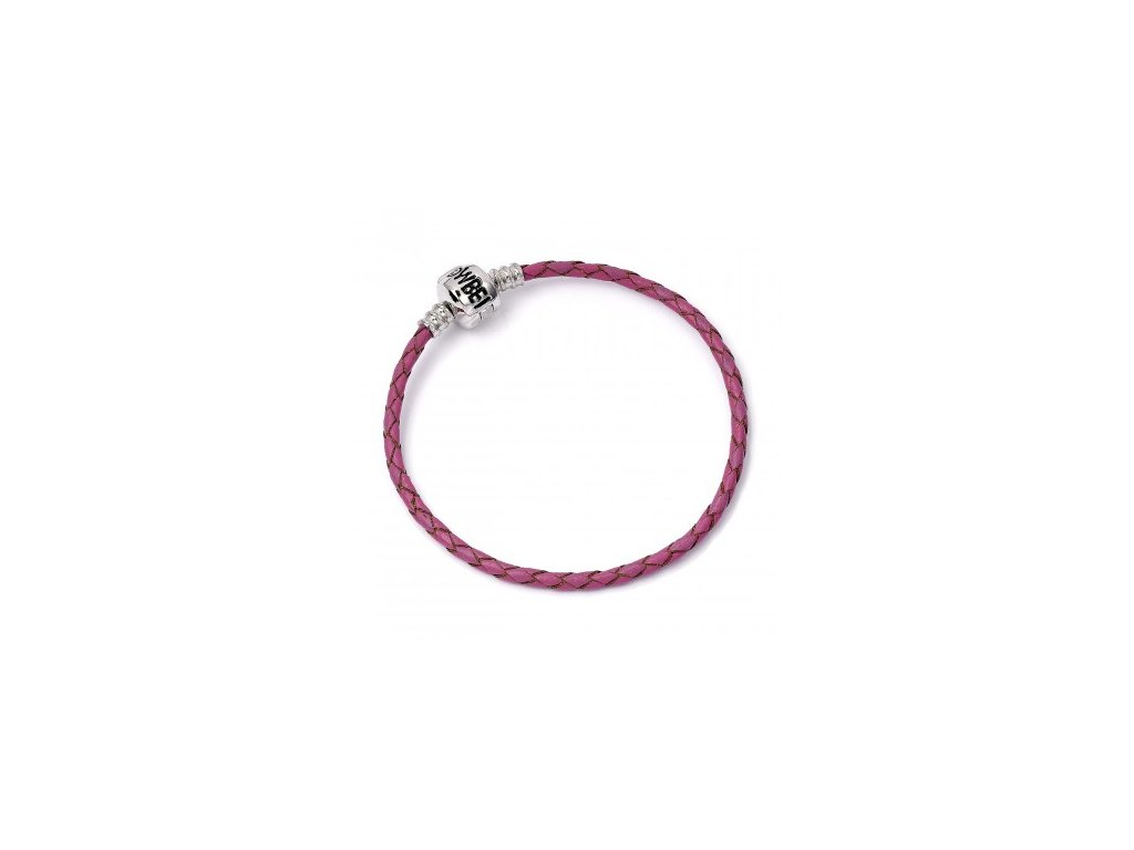 hp pink leather bracelet