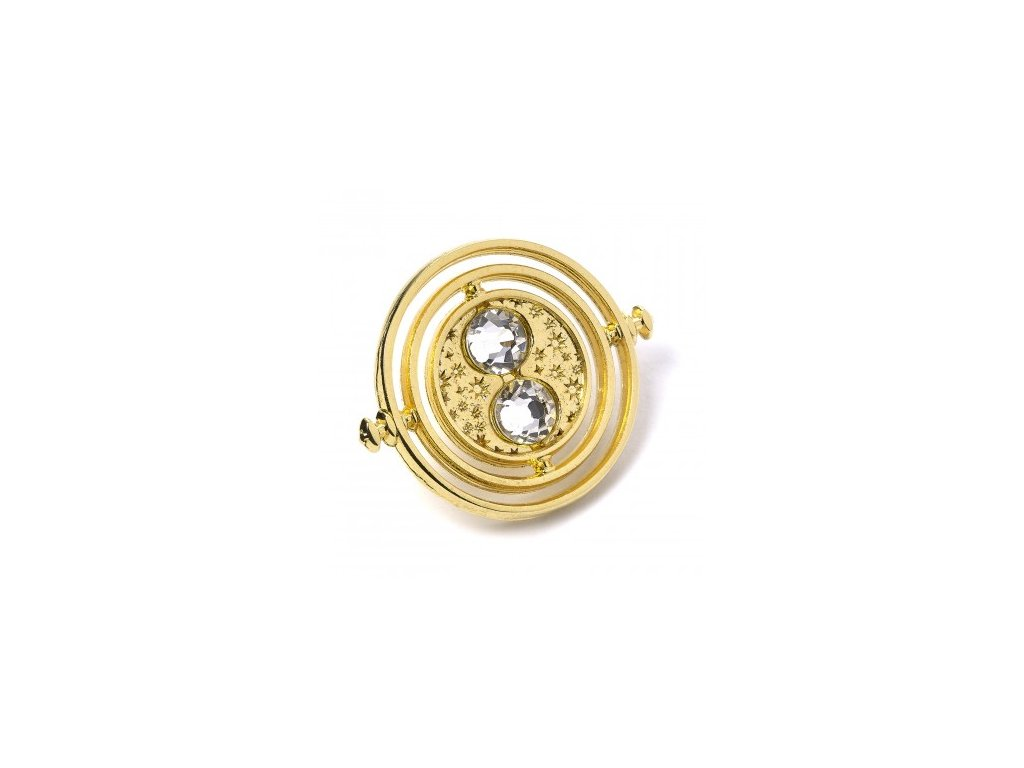 hp time turner pin badge a 1
