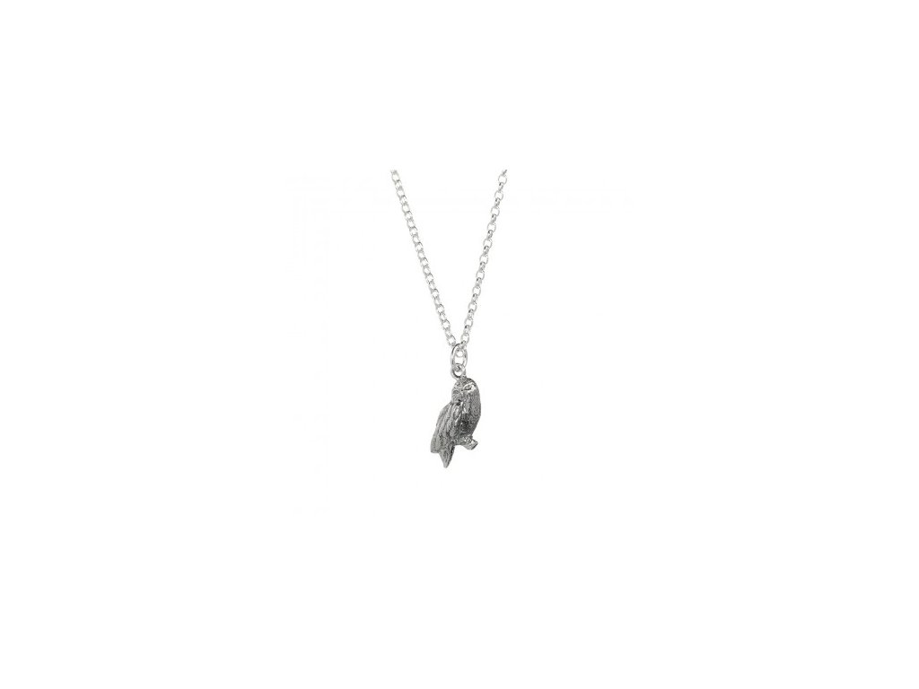 hp necklace owl angled