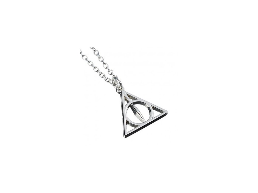hp necklace deathly hallows close