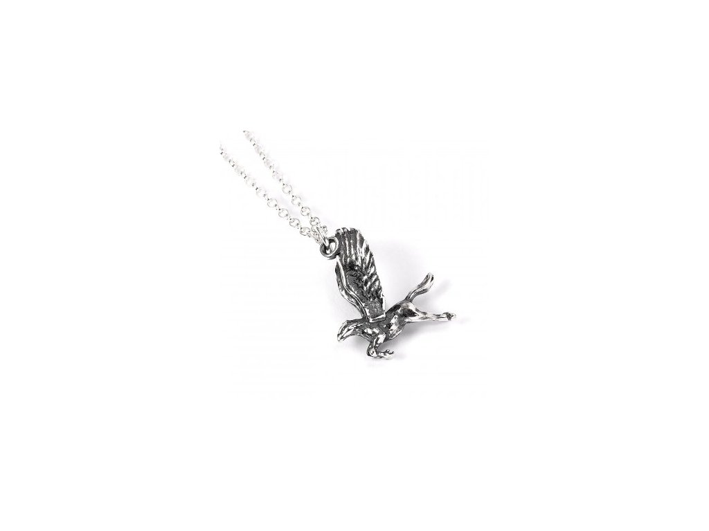 hp silver buckbeat necklace c up