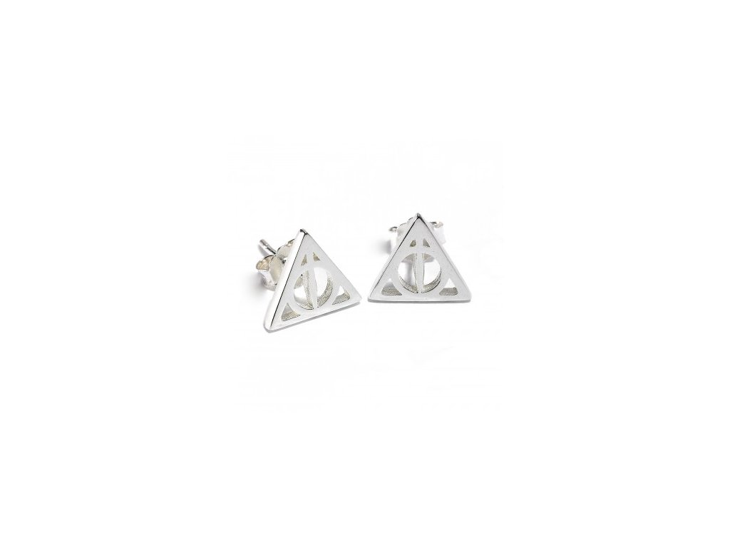 hp ss deathly hallows earrings b