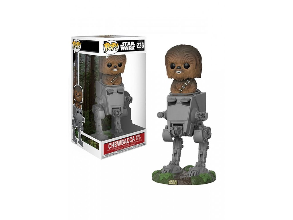 Funko POP! Chewbacca AT-ST Deluxe 10 cm Star Wars