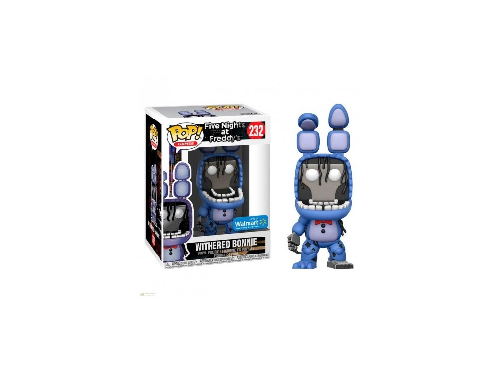 Funko POP! Withered Bonnie 9 cm Five Nights at Freddy's