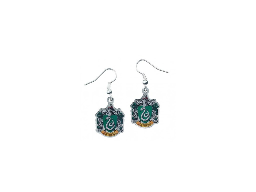 hp earrings slytherin